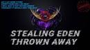 Stealing Eden Thrown Away