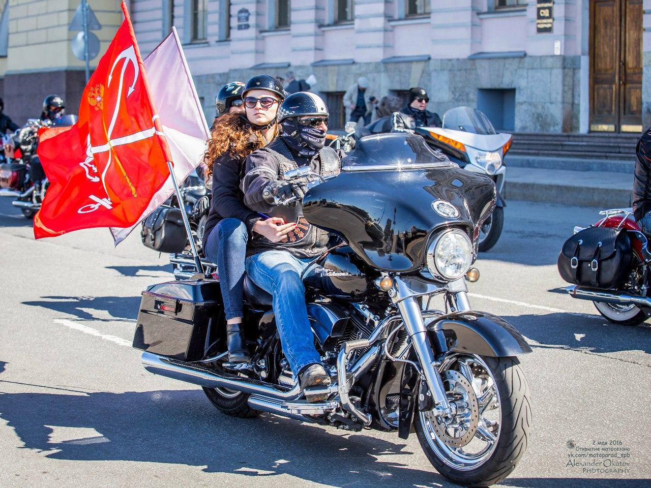 ней фотосессии на мотоциклах питер клубе