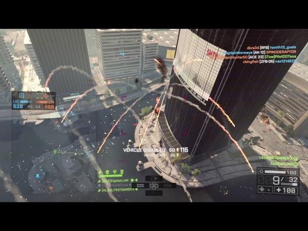 INSANE 215 KILLSTREAK 1 Attack Heli Gunner World (299,000 Kills) Battlefield 4