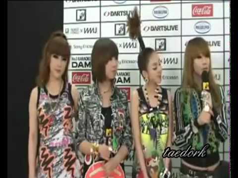 2NE1's CL speaks English Japanese