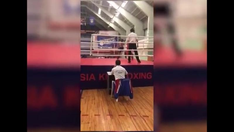 Кикбоксер-любитель из Пензы взял «серебро» на чемпионате Поволжья