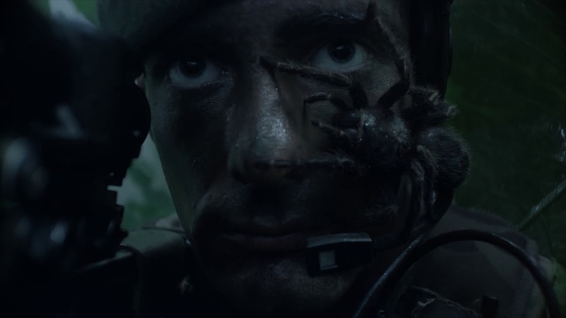 Royal Marines recruitment | spider advert