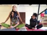 😭😍😂 тот момент,когда ты ну очень хочешь быть гимнасткой 😂 как наша нереальная крутая @samira__mustafaeva 😌 Спорт должен быть в у