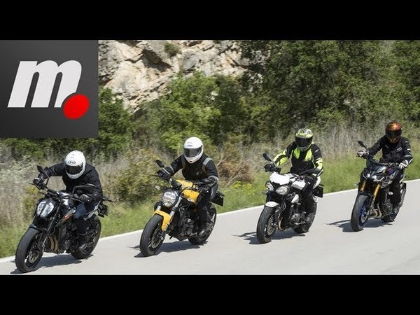 Comparativo Naked 800, la KTM 790 DUKE y sus rivales | Comparativo / Review en español | motos.net