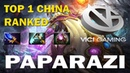 Top 1 China Paparazi Invoker Папарази играет на Инвокере Dota 2 TOP MMR