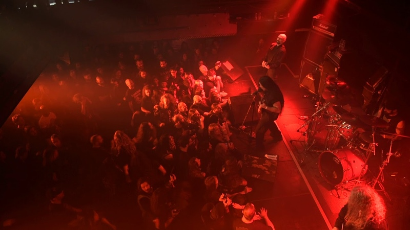 Immolation at Foufounes Electriques Montreal, QC on October 19, 2018 1