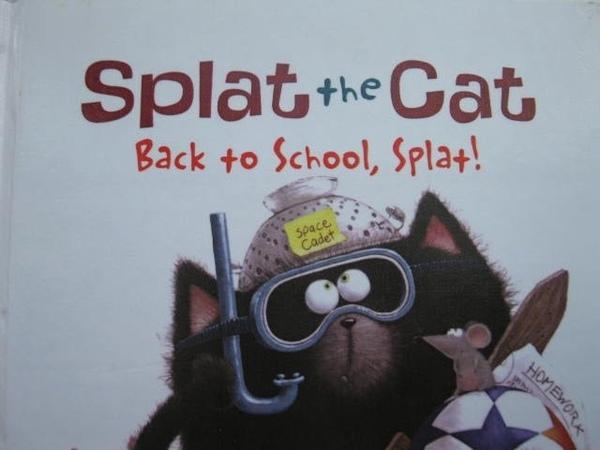 Splat The Cat Back To School,Splat ! - Read Aloud Story Books