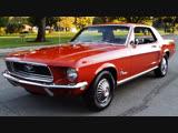 Автомобиль Ford Mustang Hardtop, 1968 года