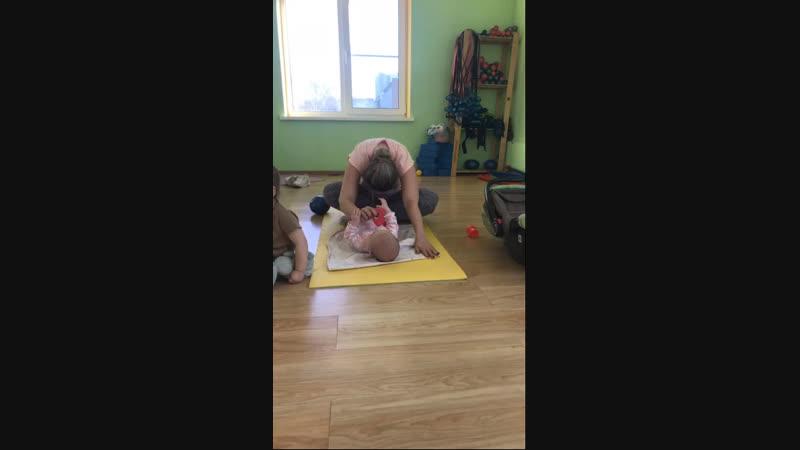 Фитнес мама малыш