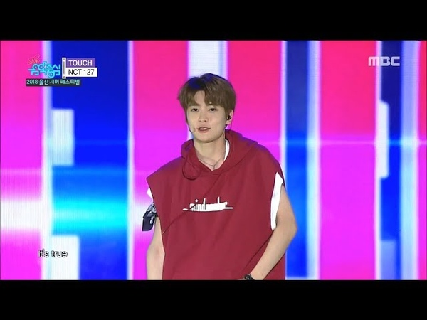 [HOT] NCT 127 - TOUCH, 엔시티 127 - 터치 Music core 20180728