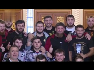 Подарок Хабибу от Рамзана Кадырова.mp4