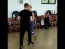 Взаимодействие в паре Salsa on 2 Marydensproject. Batumi. Georgia
