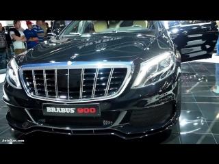 Brabus 900 Mercedes Maybach S600 Limousine V12 W222 ULTRA LUXURY ROCKET 900ps Ba
