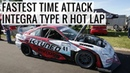 The Fastest Time Attack Integra Type R Destroys FWD Record at GridLife