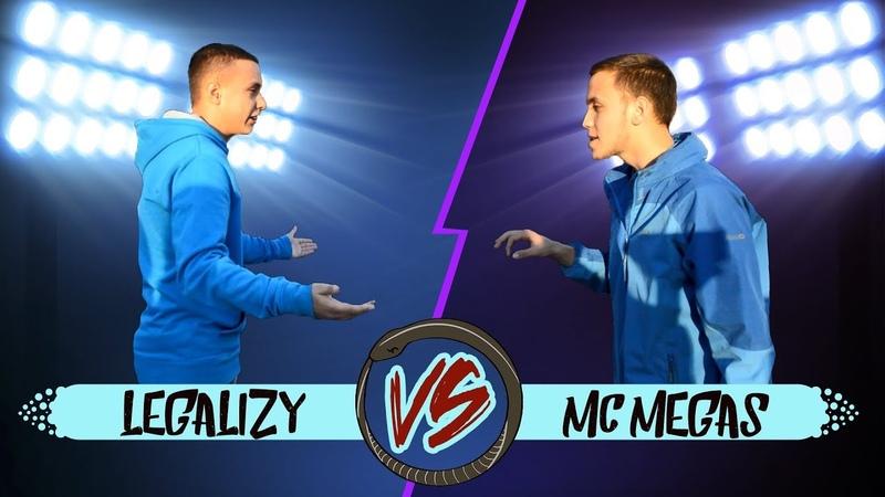 METADON BATTLE MC LEGALIZY VS MC MEGAS (II Season first battle)