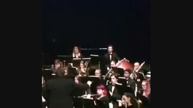 Концерт... Главное, что бы барабанщик во вкус не вошел