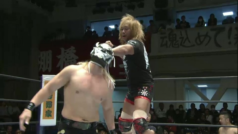 EVIL, SANADA, BUSHI, Hiromu Takahashi vs. Lance Archer, Davey Boy Smith Jr., Yoshinobu Kanemaru, El Desperado (NJPW)