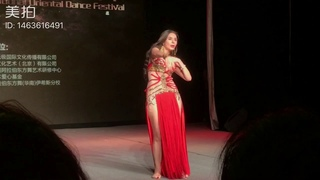 Belly dancer Dina in China2018