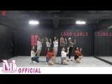 Momoland - BAAM Dance Practice Video.