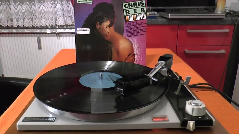 VINYL SUPER HQ Chris Rea On the Beach 1964 PE33 Studio turntable Philips GP412/2 shibata cart