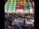 В городе Дерик, Демократическая Федерация Северо-Сирии, открылся парламент народа Rojava.