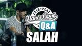 Q&ampA Salah 'I became me by expierience of life' Fair Play Dance Camp 2017
