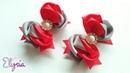 Laço Melody 25mm 🎀 Ribbon Bow Tutorial 🎀 DIY by Elysia Handmade