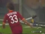 Габриэль Батистута (Рома) - гол в ворота