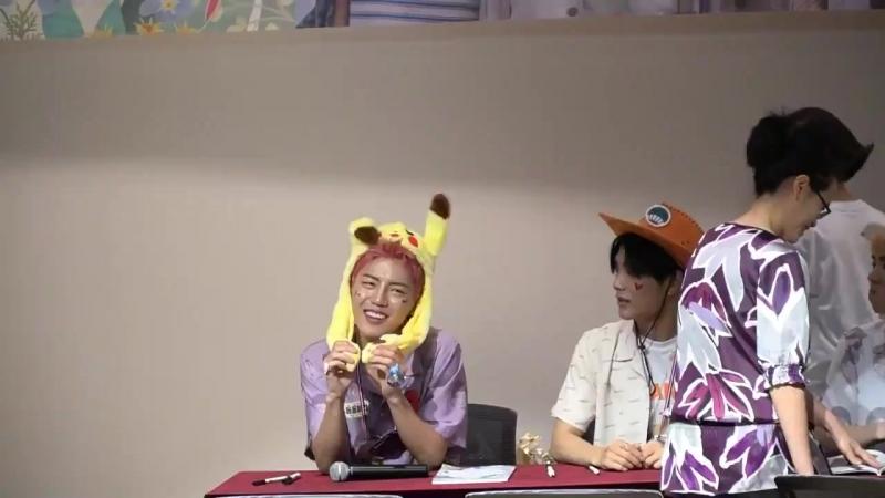 FANCAM | 17.06.18 | Jun, Donghun @ 4th fansign Incheon Media Center