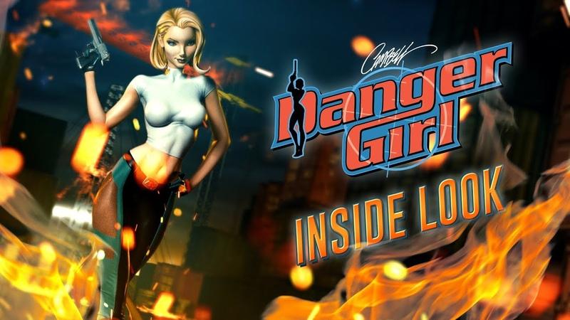 Inside Look: J Scott Campbell's Danger Girl - Abbey Chase