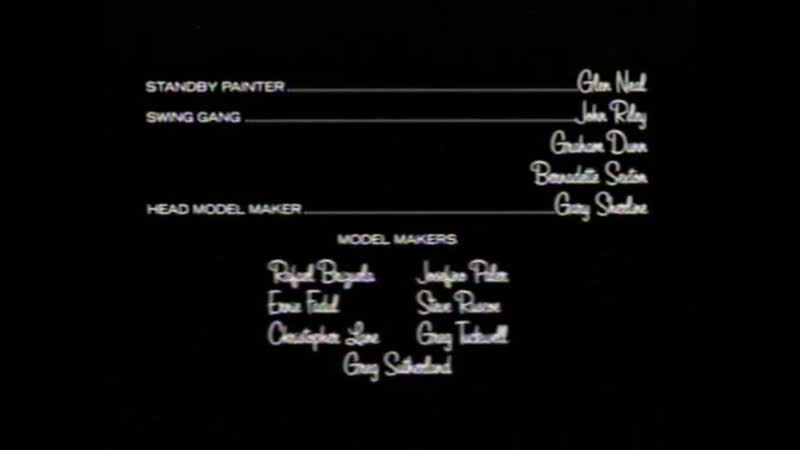 Movie End Credits 623 Ghost Ship