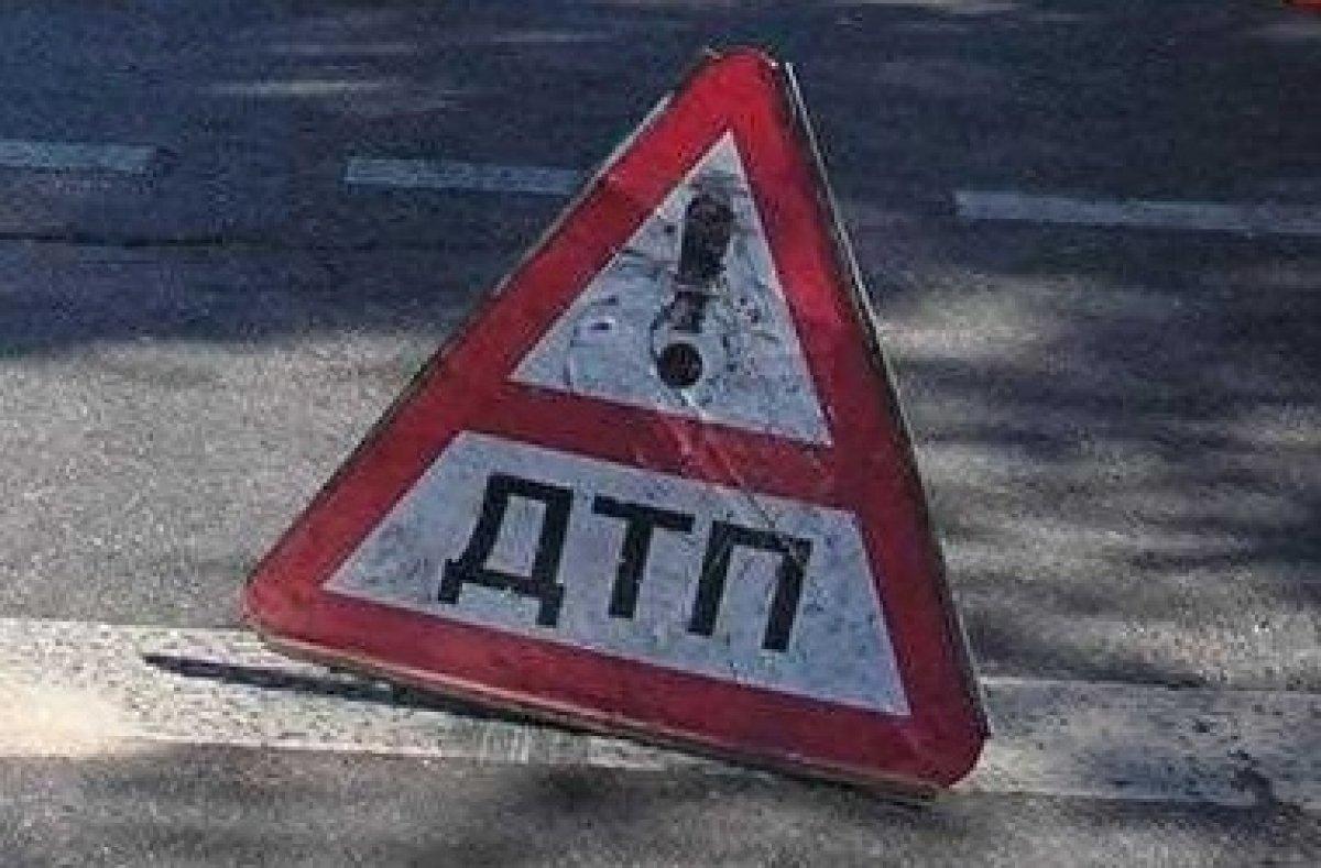 Произошло ДТП на дороге Симферополь-Феодосия