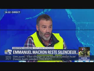Christophe Chalençon (Gilet Jaune) : «Macron est un petit garçon gâté»