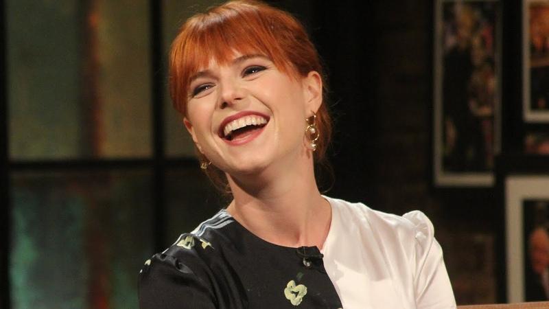I'm still Irish, I'm still gawky curly somewhere! Jessie Buckley   The Late Late Show   RTÉ One