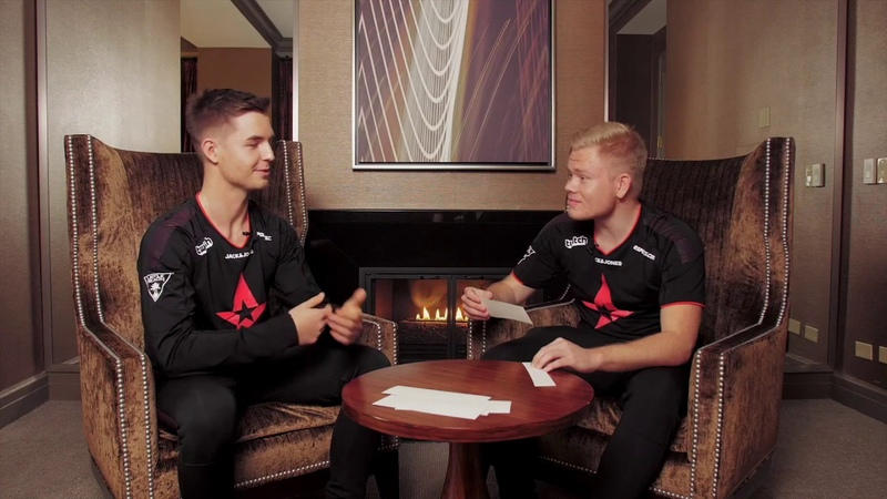 Quickfire with Astralis - IEM Chicago 2018 - dev1ce Magisk