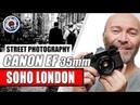 STREET PHOTOGRAPHY ON 35mm FILM - LONDON