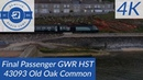 HST 43093 Old Oak Common Final Passenger service out of Devon for GWR