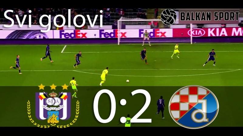 Anderlecht vs Dinamo 02 SVI GOLOVI HD 4.10.2018