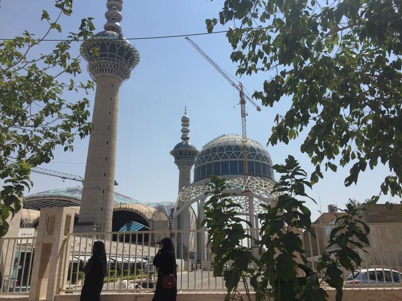 Путешествие в иран часть 9. Строящаяся Джума-Мечеть