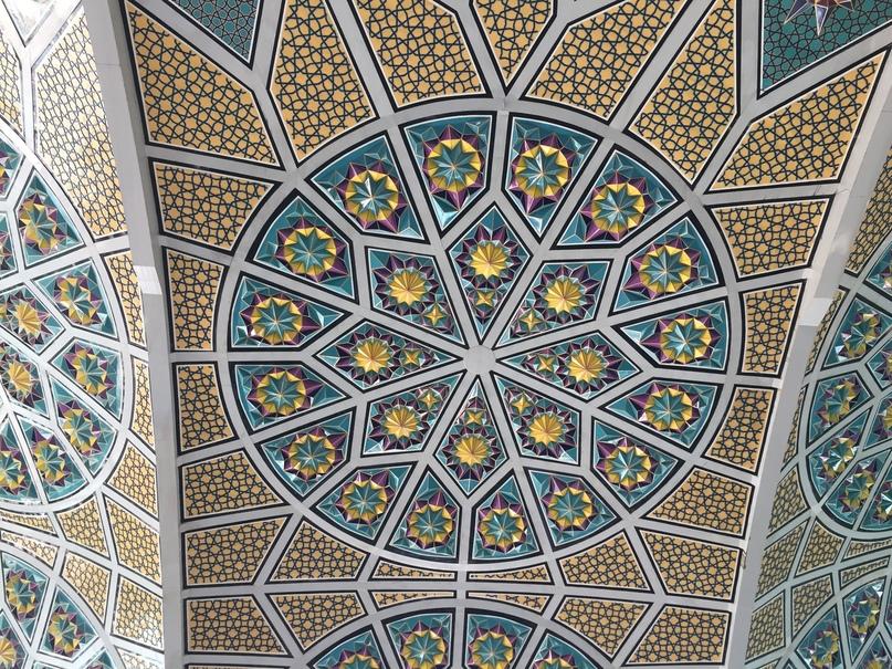 Путешествие в иран часть 9. Своды Строящейся Джума-Мечети