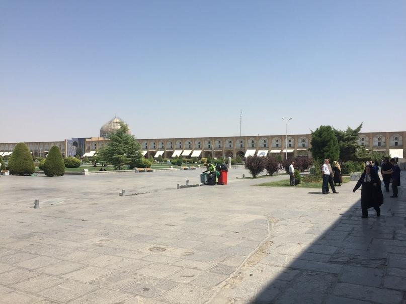 Путешествие в иран часть 9. Площадь Naqsh-e jahan