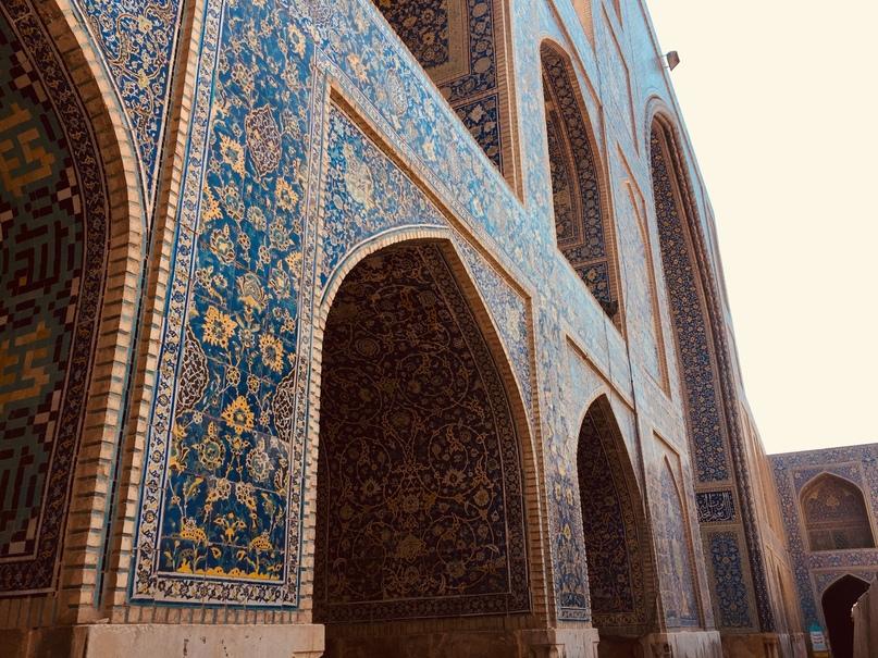 Путешествие в иран часть 9. Коридоры мечети Имама на площади Naqsh-e jahan