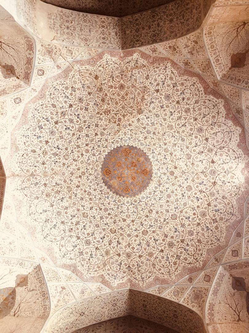 Путешествие в иран часть 9. Украшение Дворца Ali-Qapu