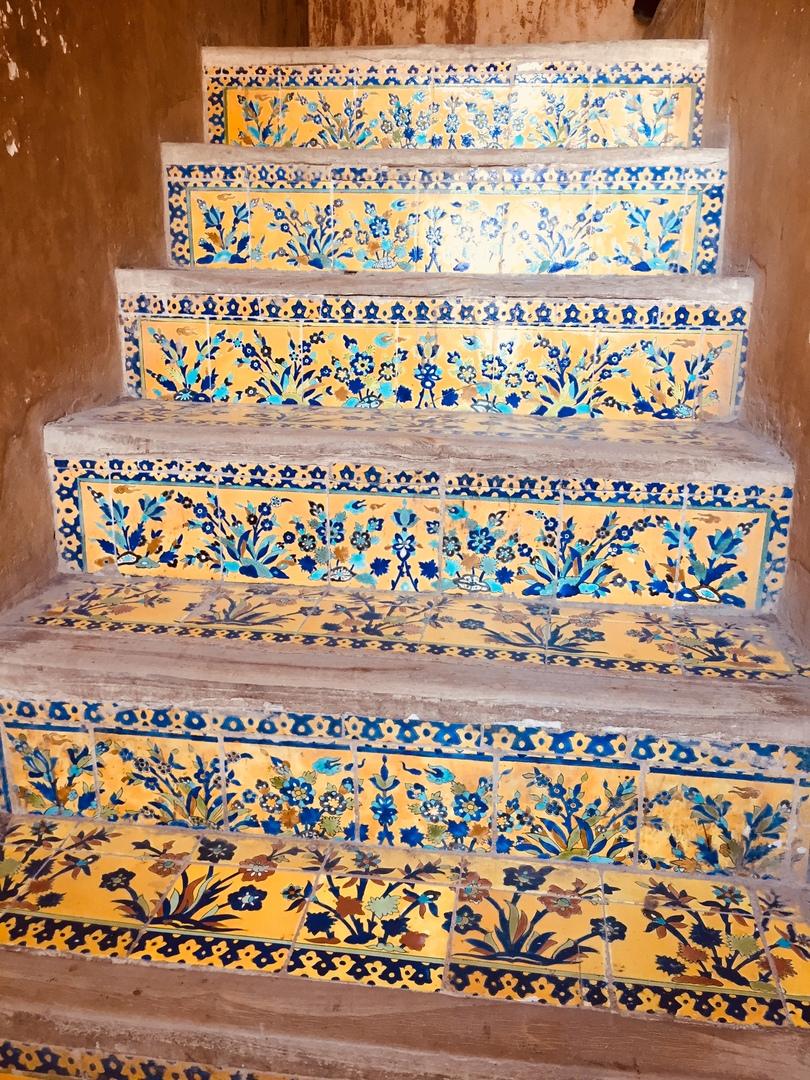 Путешествие в иран часть 9. Ступени во Дворце Ali-Qapu