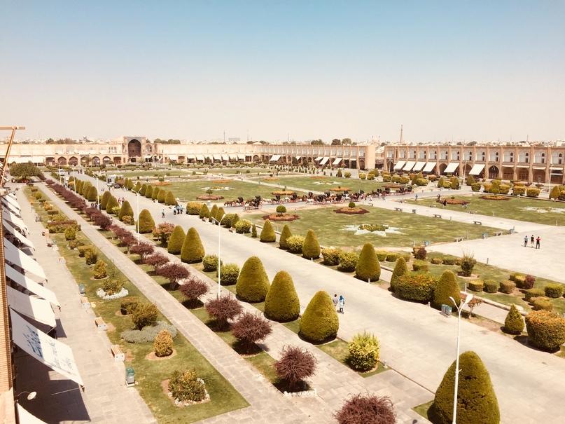 Путешествие в иран часть 9. Вид на площадь Naqsh-e jahan