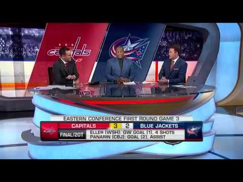 Eller, Capitals edge Blue Jackets in Game 3