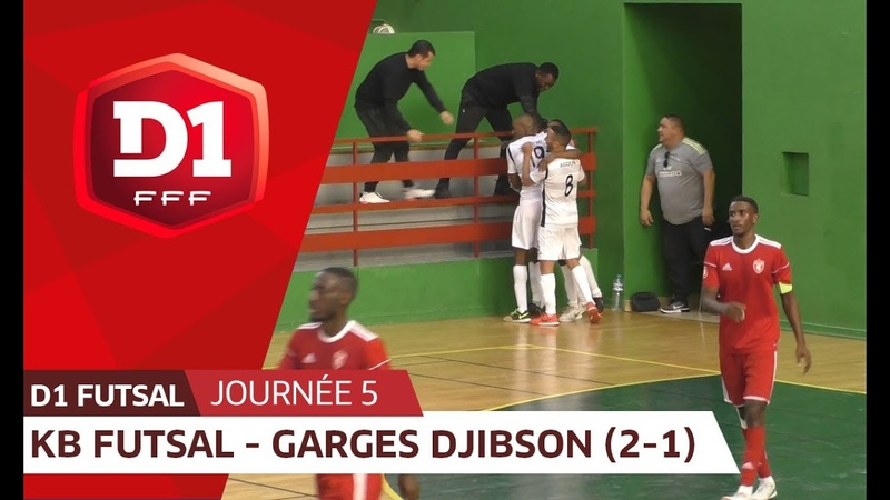 J5 KB Futsal - Garges Djibson Futsal (2-1)