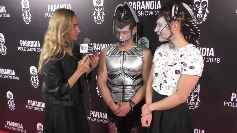 Паранойя paranoia poledance Татьяна Пучкова poledance festival showmens showwomens