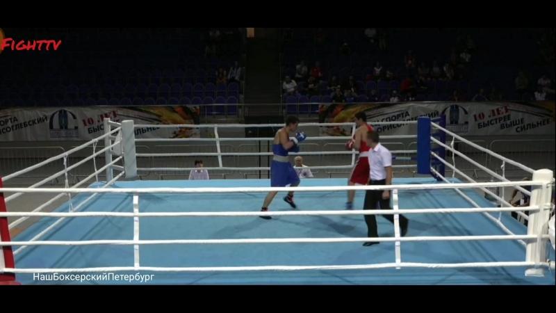 Эйниев Элджан (ХМАО Югра) vs Сосулин Павел (С.Петербург) 69кг