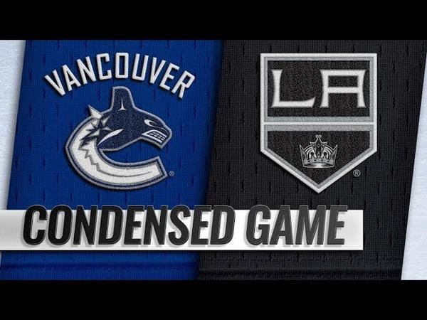 Vancouver Canucks vs Los Angeles Kings – Sep.24, 2018 | Preseason | Game Highlights